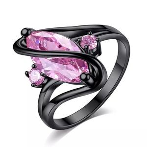 Jewelry - Black 925 silver ring